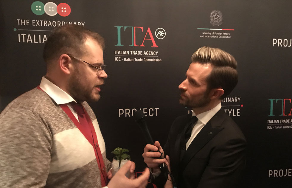 Alex Ridolfi intervistato al Project di NY