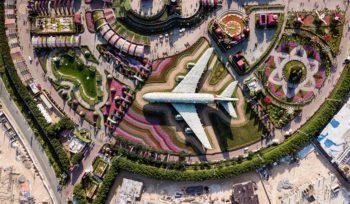 veduta aerea dubai expo