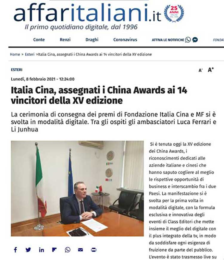 articolo affari italiani